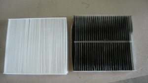 Here is a DIRTY air filter!
